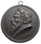 obverse: Medaglie - Padova. XVIII Sec?. Ae. Galileo Galilei. Peso gr. 86,7. Diametro mm. 66,5. Buone condizioni.