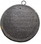 reverse: Medaglie - Padova. XVIII Sec?. Ae. Galileo Galilei. Peso gr. 86,7. Diametro mm. 66,5. Buone condizioni.