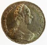 obverse: Medaglie. Parma. Ferdinando I. 1765-1802.1802. Nozze di Maria Amalia. Ag. CNI 2.SPL.