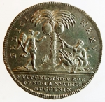 reverse: Medaglie. Parma. Ferdinando I. 1765-1802.1802. Nozze di Maria Amalia. Ag. CNI 2.SPL.