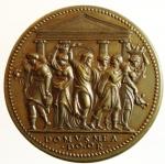 reverse: Medaglie. Paolo III. 1534-1549. Riconio del XIX secolo. La cacciata dei profanatori del tempio. Diametro 32,00 mm.SPL+\FDC.