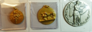 obverse: Medaglie. Lotto di 3 medaglie sportive. Ottime conservazioni.gf