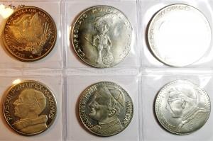obverse: Medaglie.Lotto di 6 medaglie sportive e papali. Ottime conservazioni.gf