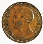 obverse: Monete Estere. Francia.Napoleone II.1816. Prova. Centesimo di prova 1816. SPL.