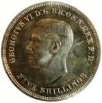 obverse: Monete Estere. Gran Bretagna. 5 Scellini 1951. In confezione Originale.FDC.s.v.