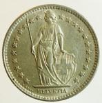 reverse: Monete Estere. Svizzera. 2 Franchi 1964. Ag. Peso 10,00 gr. SPL.