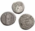 reverse: Lotti - Mondo Romano. Lotto di 3 monete in argento.§