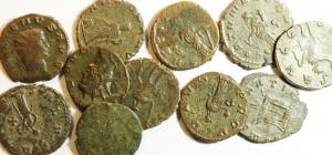 obverse: Lotti. Impero Romano. Gallieno, Valeriano e Claudio il Gotico. Lotto di 11 antoniniani. Mediamente qBB.w