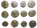 obverse: Lotti - Provincia Romana. Lotto di 12 esemplari in Ae.