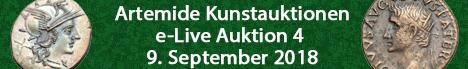 Banner Artemide Kunstauktionen - eLive Auction 4