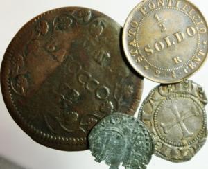D/ Lotti.Zecche Italiane.Lotto di 4 monete da classicficare, mediamente BB