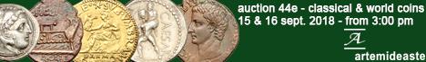 Banner Artemide Aste - Asta Numismatica 44E