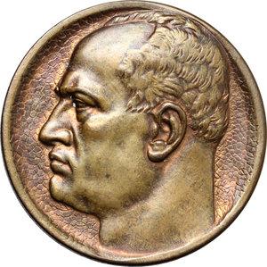 D/  Medaglia Grandi Manovre Tosco-Romagnole A.XII.     AE.   mm. 40.00    qSPL.