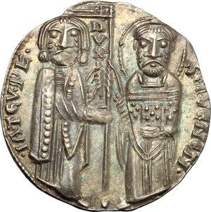 Venezia. Iacopo Tiepolo (1229-1249). Grosso.    Paol. 1. AG. g. 2.19  mm. 21.00    SPL.