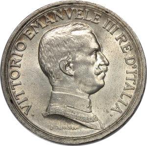 obverse: Regno di Italia. Vittorio Emanuele III (1900-1943). 2 lire 1916.    Pag. 739. AG.      qFDC/FDC.