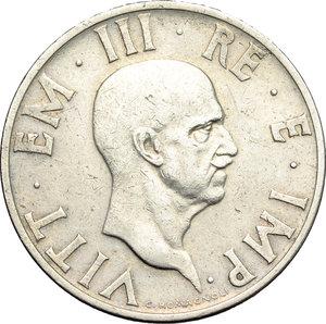 obverse: Regno di Italia. Vittorio Emanuele III (1900-1943). 2 lire 1936 A.XIV.    Pag. 754. Mont. 175. NI.    R.  qBB/BB.