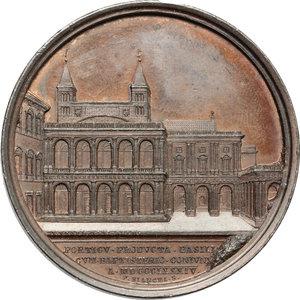 reverse: Leone XIII (1878-1903), Gioacchino Pecci. Medaglia A. VII.    Bart. E. 891. AE.   mm. 43.80 Inc. F. Bianchi.   SPL.