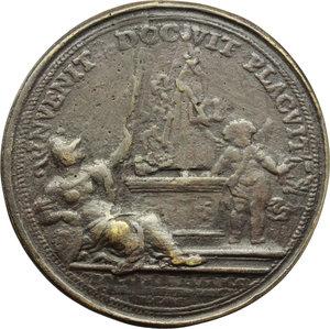 reverse: Bologna. Francesco Maria Zanotti (1692-1777), Compositore. Medaglia celebrativa.     AE.   mm. 54.00 Inc. Balugani.   qBB.