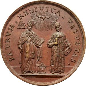 reverse: Venezia. Daniele Concina (1687-1756), teologo. Medaglia ultimo quarto XVIII secolo (1789).    Volt. 1723. AE.   mm. 49.00 Inc. P. Balzar.   SPL.