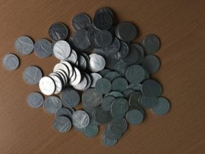 obverse: ITALIA, Repubblica,Lotto di circa 100 monete da 5 e 10 lire da classificare LOTTO ACQUISTATO E NON PAGATO ALL ASTA ANTIQVA 48 DAL CLIENTE N. 21372 (NON SI ACCETTANO RESI)