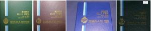 obverse: SAN MARINO, lotto di 4 Serie ufficiali Zecca 1982-1983-1984-1986 FDC (NON SI ACCETTANO RESI)