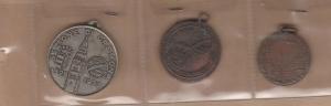 obverse: CREMONA, LOTTO 3 medaglie: 2 alpini + 1 giochi (NON SI ACCETTANO RESI)