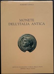 D/ Catalli Fiorenzo. Monete dell'Italia Antica. Roma 1995 Cartonato con sovracoperta, pp. 165, ill. nel testo