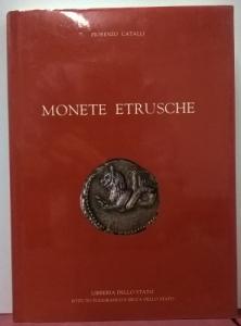 D/ Catalli Fiorenzo. Monete etrusche. Roma, 1998. Cartonato, pp. 148, ill.