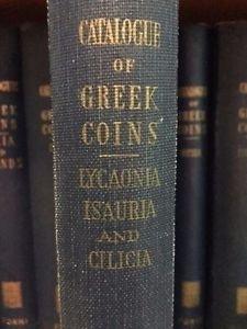 D/ Hill George Francis. BMC vol. XXI: Lycaonia, Isauria and Cilicia. Ristampa Forni. Tela editoriale, pp. 427, ill.