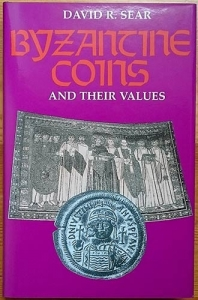 obverse: Sear David R. Byzantine Coins and Their Values. Spink, London reprint 2014. The standard reference for the Byzantine coin series. 2645 monete descritte. Copertina rigida con sovraccoperta, pp. 526, illustrazioni
