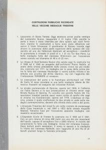 D/ Bernardi Giulio. Costruzioni pubbliche ricordate nelle vecchie medaglie triestine. Trieste, 1979 pp. 8, ill.