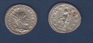 D/ Philip I. (244-249 AD) AR Antoninianus Rome. 3.85 gr. D / IMP M IVL PHILIPPVS AVG Bust radiated to the right. R / ANNONA AVGG Annona lExtremely Finet with ears and cornucopia, at her feet a modio. RIC.28c. Extremely Fine