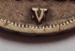 R/ VENEZIA, Napoleone I (1805-1814) 10 Soldi 1812 V su M Ag. molto rara patina di antica collezione Pagani 26a BB Ex Asta Artemide del 6/5/2006 lotto 1573