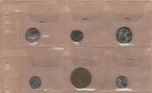 obverse: LOTTO di 6 pezzi (1 falso Nerone, 2 romane da catalogare, 2 barbariche da catalogare, 1 gettone) (NON SI ACCETTANO RESI)