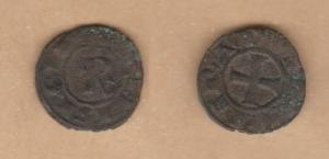 D/ BRINDISI, Corrado I (1250-1254) Denaro. MEC XIV, 581 BB+