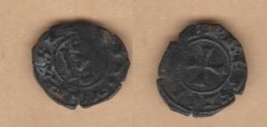 D/ BRINDISI, Corrado II (1254-1258) Denaro 0,76 gr. MEC XIV, 594 BB