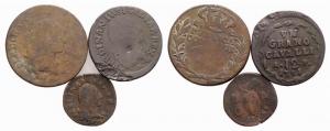 D/ lotto di 3 monete di Napoli da classificare LOT SOLD AS IS, NO RETURNS