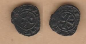 D/ BRINDISI, Manfredi (1258-1266) Denaro 0,58 gr. MEC XIV, 602 BB+