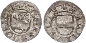 D/ GORIZIA, Massimiliano d'Austria (1500-1519) Vierer in mistura. Paolucci 96 non comune qSPL
