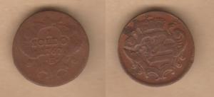 D/ GORIZIA, Maria Teresa (1740-1780) Soldo 1767 H. Paolucci 103ad BB/BB+