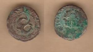 D/ MESOCCO, Gian Giacomo Trivulzio (1487-1518) Trillina. MIR 996 non comune BB