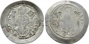 D/ AQUILEIA, Gregorio di Montelongo (1251-1269) AR Denaro con aquila 0.99 gr. Paolucci 22 MEC XII, 847 rara BB