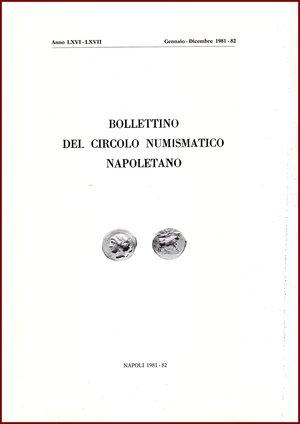 obverse: AAVV BOLLETTINO CIRCOLO NUMISMATICO NAPOLETANO 1981-82  1981-82 Brossura pp.75 BOLLETTINO  DEL CIRCOLO NUMISMATICO NAPOLETANO  ANNO LXVI – LXVII GENNAIO DICEMBRE 1981-82     NAPOLI 1981-82  75 PP, GRANDE FORMATO  (300 X210 mm)  Molto raro  Articoli di Luisa Bovi,  Franceco Sernia, Mario Traina, roberto Volpes  Ottime condizioni  PREZIOSO PER COLLEZIONISTI E STUDIOSI DI NUMISMATICABOLLETTINO  DEL CIRCOLO NUMISMATICO NAPOLETANO  ANNO LXVI – LXVII GENNAIO DICEMBRE 1981-82     NAPOLI 1981-82  75 PP, GRANDE FORMATO  (300 X210 mm)  Molto raro  Articoli di Luisa Bovi,  Franceco Sernia, Mario Traina, roberto Volpes  Ottime condizioni  PREZIOSO PER COLLEZIONISTI E STUDIOSI DI NUMISMATICABOLLETTINO  DEL CIRCOLO NUMISMATICO NAPOLETANO  ANNO LXVI – LXVII GENNAIO DICEMBRE 1981-82     NAPOLI 1981-82  75 PP, GRANDE FORMATO  (300 X210 mm)  Molto raro  Articoli di Luisa Bovi,  Franceco Sernia, Mario Traina, roberto Volpes  Ottime condizioni  PREZIOSO PER COLLEZIONISTI E STUDIOSI DI NUMISMATICABOLLETTINO  DEL CIRCOLO NUMISMATICO NAPOLETANO  ANNO LXVI – LXVII GENNAIO DICEMBRE 1981-82     NAPOLI 1981-82  75 PP, GRANDE FORMATO  (300 X210 mm)  Molto raro  Articoli di Luisa Bovi,  Franceco Sernia, Mario Traina, roberto Volpes  Ottime condizioni  PREZIOSO PER COLLEZIONISTI E STUDIOSI DI NUMISMATICABOLLETTINO  DEL CIRCOLO NUMISMATICO NAPOLETANO  ANNO LXVI – LXVII GENNAIO DICEMBRE 1981-82     NAPOLI 1981-82  75 PP, GRANDE FORMATO  (300 X210 mm)  Molto raro  Articoli di Luisa Bovi,  Franceco Sernia, Mario Traina, roberto Volpes  Ottime condizioni  PREZIOSO PER COLLEZIONISTI E STUDIOSI DI NUMISMATICABOLLETTINO  DEL CIRCOLO NUMISMATICO NAPOLETANO  ANNO LXVI – LXVII GENNAIO DICEMBRE 1981-82     NAPOLI 1981-82  75 PP, GRANDE FORMATO  (300 X210 mm)  Molto raro  Articoli di Luisa Bovi,  Franceco Sernia, Mario Traina, roberto Volpes  Ottime condizioni  PREZIOSO PER COLLEZIONISTI E STUDIOSI DI NUMISMATICABOLLETTINO  DEL CIRCOLO NUMISMATICO NAPOLETANO  ANNO LXVI – LXVII GENNAIO DICEMBRE 1981-