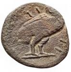 reverse: Mondo Greco -Apulia, Teate.AE. 19,3 x 21,1 mm. Ca 275-225 a.C.D/ Testa di Atena a destra.R/ Civetta ad ali chiuse a destra.RifHN (Italy) 701.g 4,38. MB-qBB