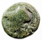 obverse: Mondo Greco. Bruttium. Lokri Epizephrioi. ca 300-268 a.C. 10 D/ Testa di Atena a sinistra. R\ LOKPON Fulmine alato. SNG ANS 543. Peso 4,70 gr. Diametro 18,78 mm. BB\BB+. R. w