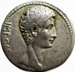 obverse: Impero. Romano. Augusto (27 a.C. - 14 d.C.) Cistoforo, Asia: Efeso, 25-20 a.C. AR. D\ IMP - CAE - SAR, testa nuda a destra R\. AVGV - STVS, capricorno stante verso destra porta una cornucopia sul dorso; il tutto in corona di alloro. RIC 480; RPC 2213. Peso 11,70 gr. Diametro 24,00 mm. Ottimo BB.