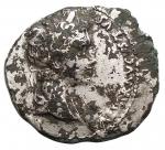 obverse: Impero Romano - Augusto. 27 a.C.-14 d.C.Denario suberato. D/ CAESAR AVGVST DIVI F PATER PATRIAE Testa di Augusto verso destra. R/ AVGVSTI F COS DESIG PRINC IVVENT, C L CAESARES Caio e Lucio nipoti di Augusto con scudo e lancia sopra Lituus e simpulum. RIC.207.Peso 2,38 gr. Diametro 19,7 mm. MB-qBB. R