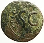 reverse: Impero Romano. Augusto .Asse da classificare . MB