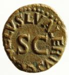 reverse: Impero Romano. Augusto. 27 a.C. - 14 d.C. Quadrante. D/ MESSALLA GALVS IIIVIR Intorno ad un altare. R/ SISENNA APRONIVS AAAFF Intorno ad SC. Peso 2,60 gr. Diametro 15,50x17 mm. RIC.455. BB+.