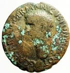 obverse: Impero Romano.Caligola .Asse da classificare .MB
